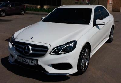 Заказ авто Mercedes-Benz E-class в Казани
