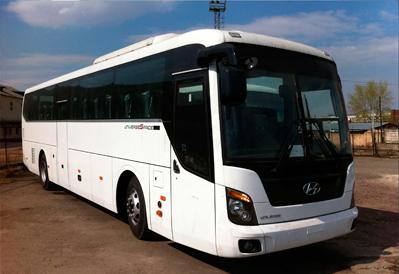 Заказ автобуса Hyundai Universe в Казани