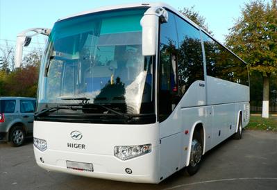 Заказ автобуса Higer в Казани