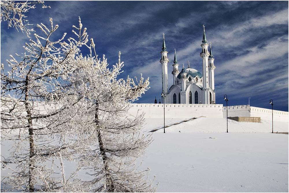 Кул Шариф зимой