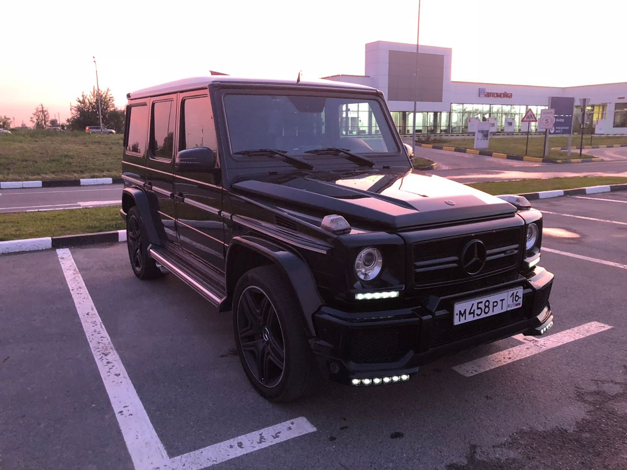 Заказ авто Mercedes-Benz G-Klasse, 6.3 AMG в Казани