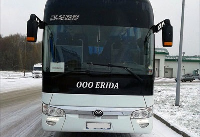 Заказ автобуса Yutong в Казани