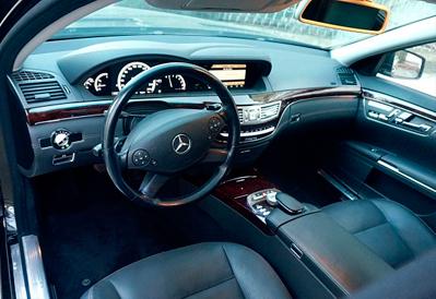 Заказ авто Mercedes-Benz S500 в Казани