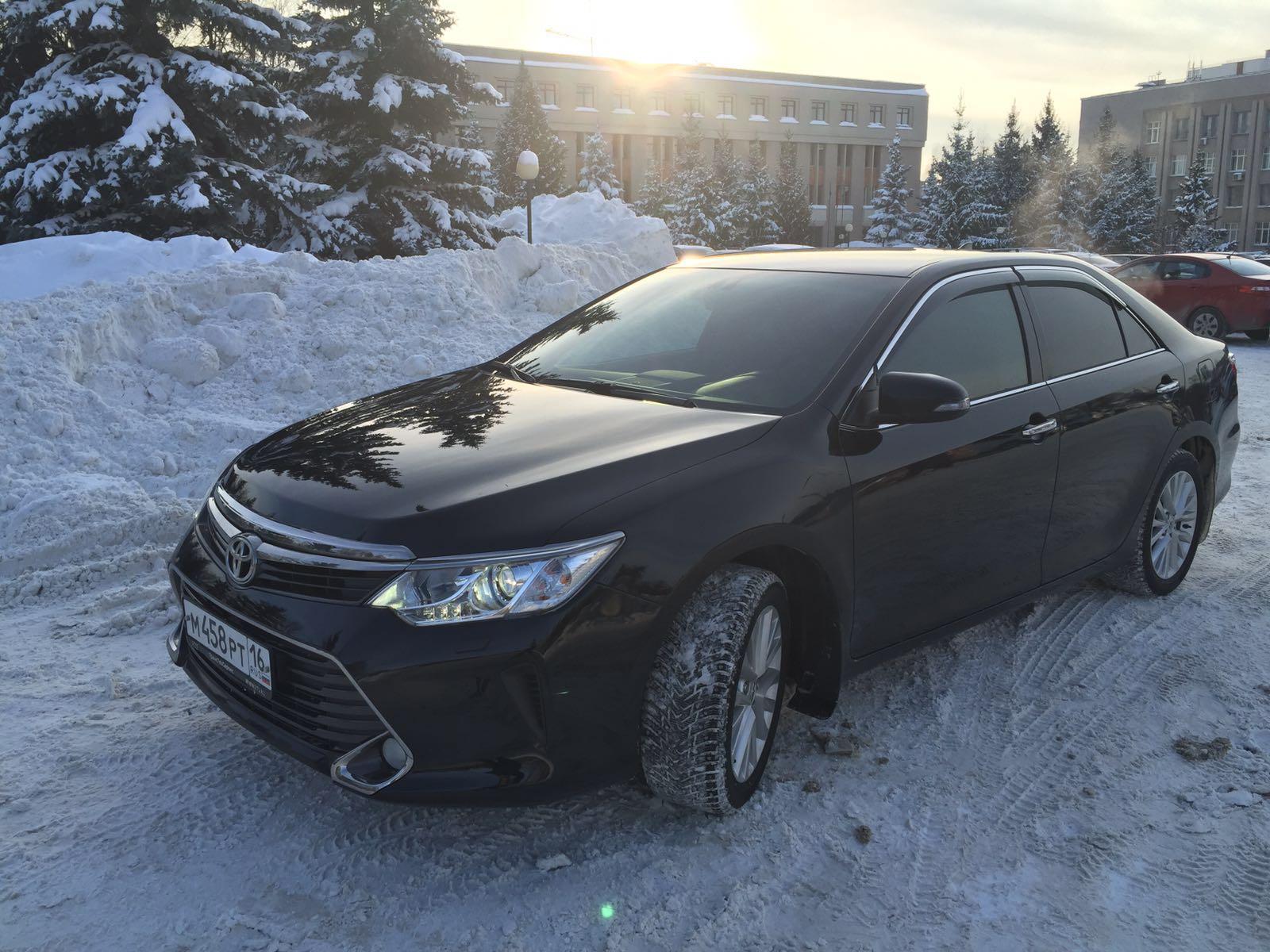 Заказ авто Toyota Camry в Казани