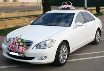 Заказ Mercedes-Benz S-class на свадьбу в Казани