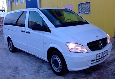 Заказ автобуса Mercedes-Benz Viano в Казани