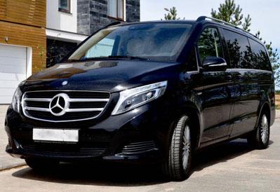 Заказ микроавтобуса Mercedes-Benz V-class в Казани