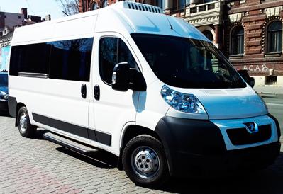 Заказ микроавтобуса Peugeot в Казани