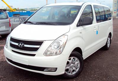 Заказ микроавтобуса Hyundai H1 (Starex) в Казани