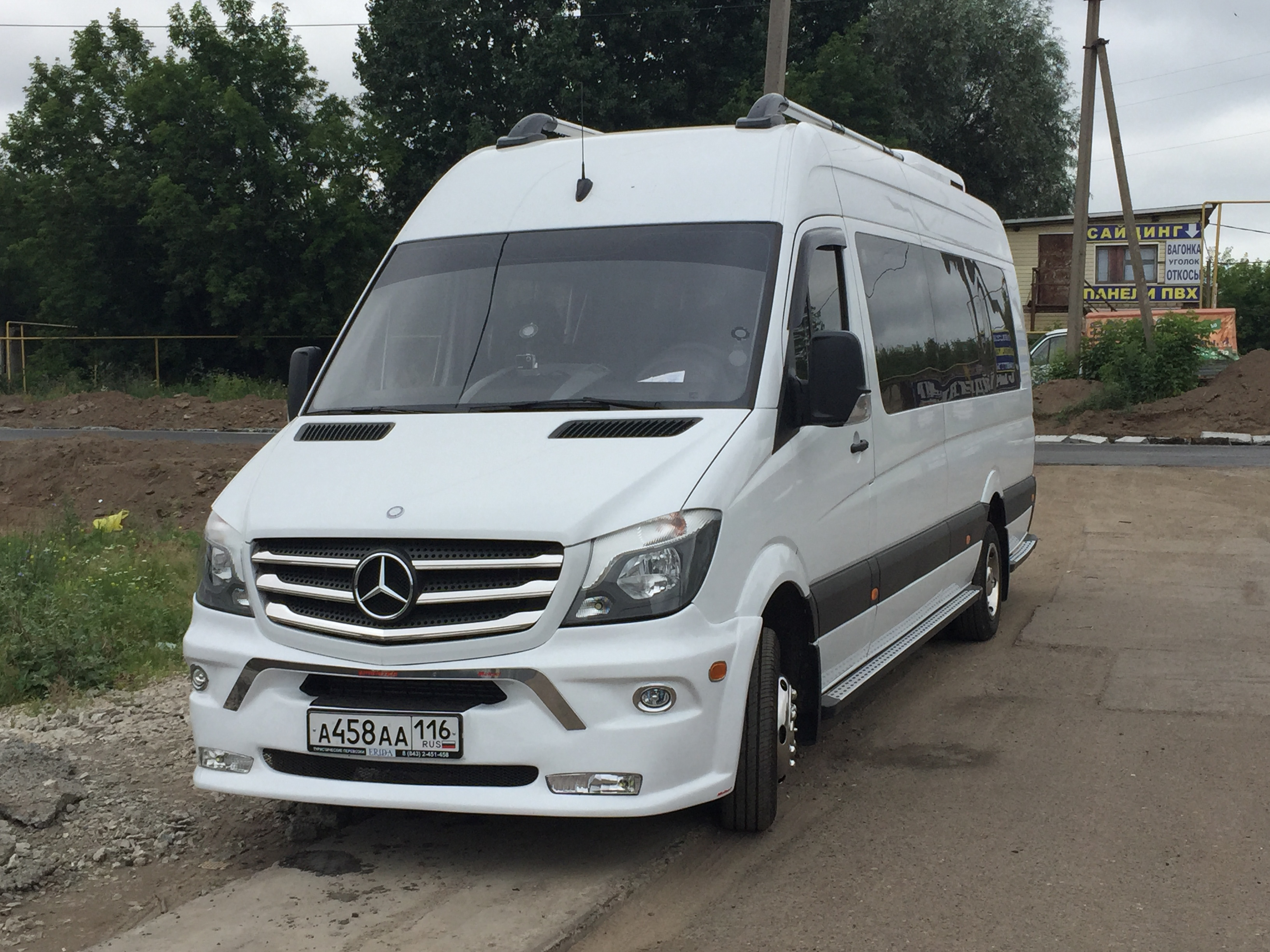 Заказ микроавтобуса Mercedes-Benz Sprinter в Казани