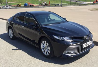 Заказ авто Toyota Camry new в Казани